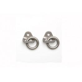 Plaqueta Fixe-2 y anillo inox  Fixe